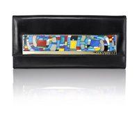 Modelo negro del clutch 'Noche Vienesa' de Frey Wille