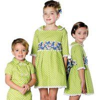 Conjuntos verdes de la colección 'Ceremonia' de Trasluz para este 2013