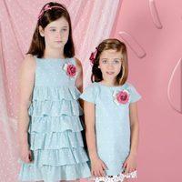 Vestidos azules de la colección 'Ceremonia' de Trasluz para este 2013