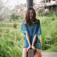 Eleonora Carisi, imagen de la colección verano 2013 de Yamamay dedicada a Bali