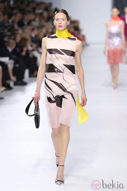 Vestido de la colección crucero 2014 de Dior