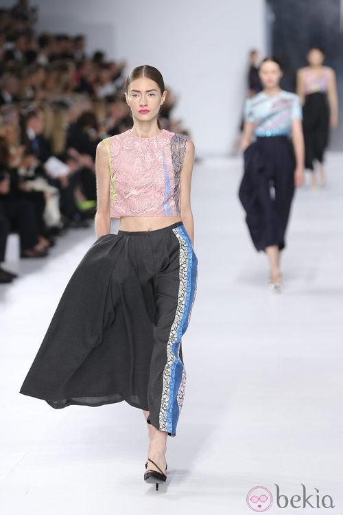 Falda de la colección crucero 2014 de Dior