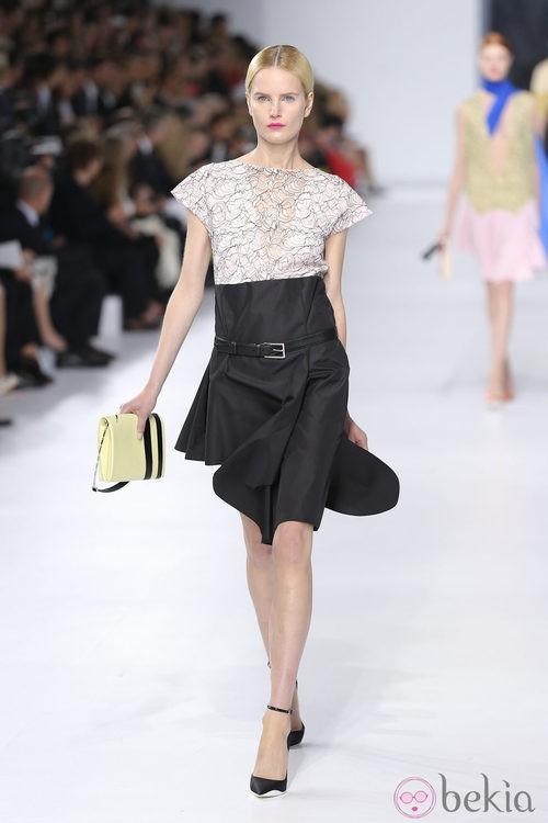 Look de falda de la colección crucero 2014 de Dior