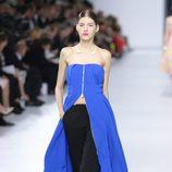 Vestido azul de la colección crucero 2014 de Dior