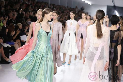 Carrousel de la colección crucero 2014 de Dior