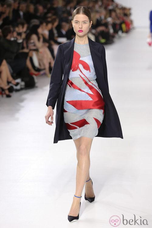 Vestido estampado de la colección crucero 2014 de Dior