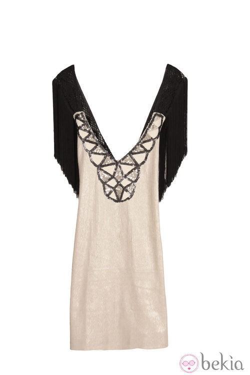 Vestido de flecos de la colección primavera/verano 2013 de Holy Preppy