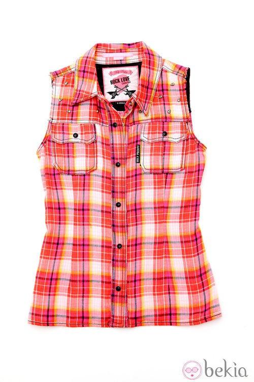 Camisa de cuadros de la línea 'Bad girl' de la colección primavera/verano 2013 de Holy Preppy