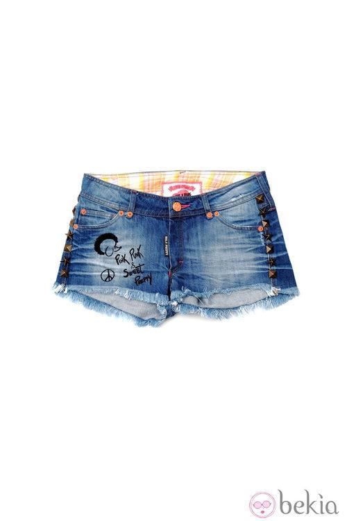Shorts de la línea 'Bad girl' de la colección primavera/verano 2013 de Holy Preppy