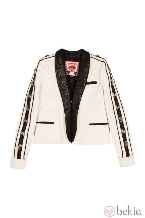 Blazer de la línea 'Black and White' de la colección primavera/verano 2013 de Holy Preppy