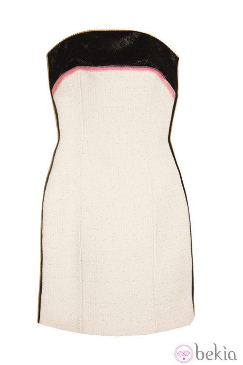 Vestido de la línea 'Black and White' de la colección primavera/verano 2013 de Holy Preppy
