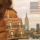 Bolso inspirado en Nueva York de la nueva colección de Corttijos Housebags