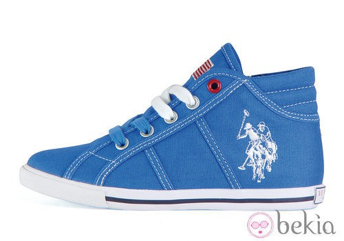 Zapatillas azules de la colección otoño/invierno 2013 de U.S. Polo Assn