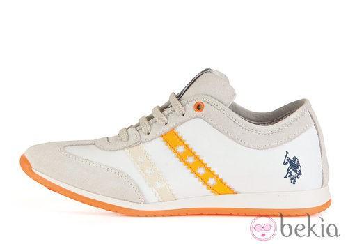 Zapatillas blancas de la colección otoño/invierno 2013 de U.S. Polo Assn