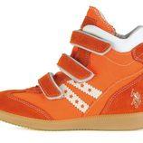 Snearkers naranjas de la colección otoño/invierno 2013 de U.S. Polo Assn