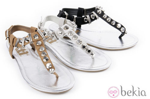 Sandalias planas de la colección 'Innovación' primavera/verano 2013 de XTI