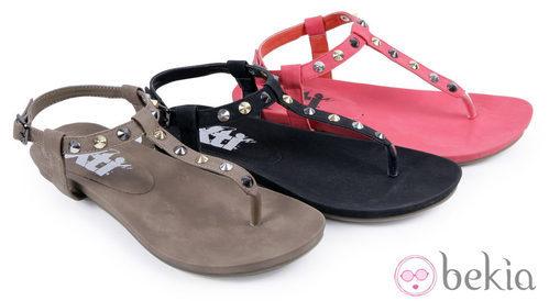 Sandalias de colores de la colección 'Innovación' primavera/verano 2013 de XTI