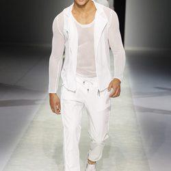 Colección masculina primavera/verano 2014 de Emporio Armani en la Semana de la Moda de Milán