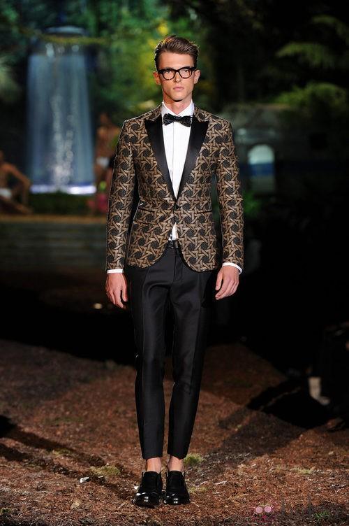 Blazer de la colección primavera/verano 2014 de DSquared2 en la Semana de la Moda de Milán