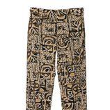 Pantalón estampado de la colección primavera/verano 2013 de Javier Simorra