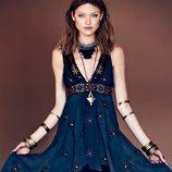 Vestido con cola de la colección primavera/verano 2013 de Free People