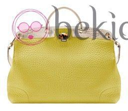 Bolso Piper Lux amarillo de la colección primavera/verano 2013 de Furla