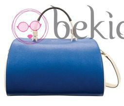 Bolso Venus en color azul de la colección primavera/verano 2013 de Furla