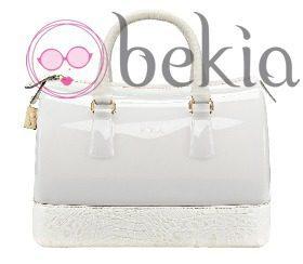 Bolso 'Candy' en color blanco de la colección primavera/verano 2013 de Furla