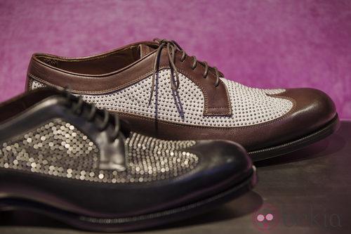Zapatos troquelados de la colección primavera/verano 2014 de Jimmy Choo