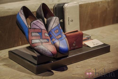 Zapatos estampados de la colección primavera/verano 2014 de Jimmy Choo