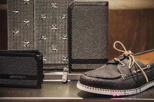 Zapatillas denim de la colección primavera/verano 2014 de Jimmy Choo