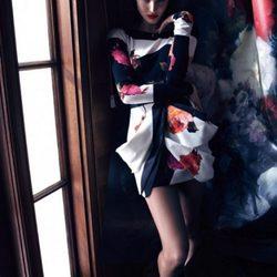 Candice Swanepoel, imagen de la colección otoño/invierno 2013/2014 de Blumarine