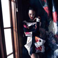 Candice Swanepoel, imagen de la florida colección otoño/invierno 2013/2014 de Blumarine