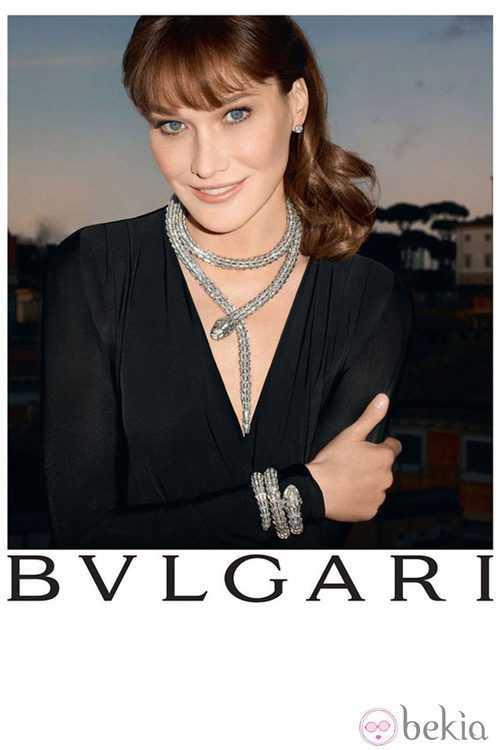 Carla Bruni embajadora de Bulgari
