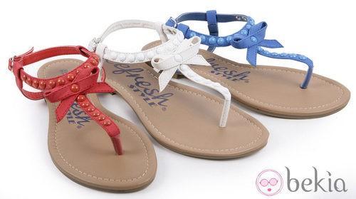Sandalias con lazo de la colección primavera/verano 2013 de Refresh