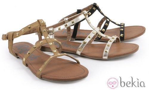 Sandalias con adornos de la colección primavera/verano 2013 de Refresh