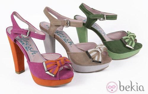 Sandalias de tacón de la colección primavera/verano 2013 de Refresh