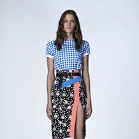 Look de blusa y falda de la Colección Resort 2014 de Emanuel Ungaro