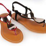Sandalias planas de la colección primavera/verano 2013 de Alex Silva