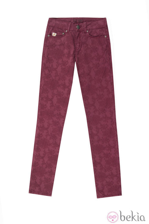 Pantalón estampado de la colección otoño/invierno 2013 de Lois