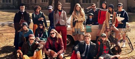 Campaña masculina y femenina otoño/invierno 2013 de Tommy Hilfiger