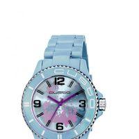 Reloj con correa azul cielo de la colección primavera/verano 2013 de Custo