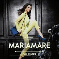 Pilar Rubio posando como imagen de la colección otoño/invierno 2013/2014 de Maria Mare