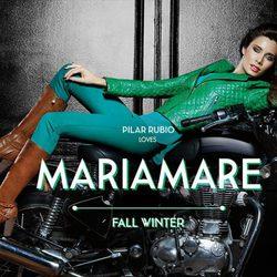 Pilar Rubio, embajadora de la colección otoño/invierno 2013/2014 de Maria Mare