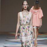 Mono floral de la colección primavera/verano 2014 de Ailanto en Madrid Fashion Week