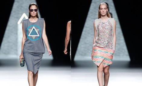 Look de la colección primavera/verano 2014 de Ana Locking en Madrid Fashion Week