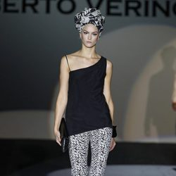 Pantalón print de la colección primavera/verano 2014 de Roberto Verino en Madrid Fashion Week