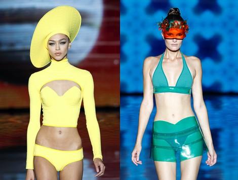 Look de baño de la colección primavera/verano 2014 de Andrés Sardá en Madrid Fashion Week