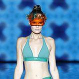 Bikini y pareo de la colección primavera/verano 2014 de Andrés Sardá en Madrid Fashion Week