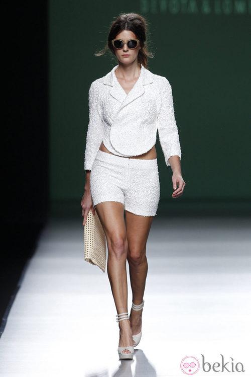 Look de la colección primavera/verano 2014 de Devota&Lomba en Madrid Fashion Week